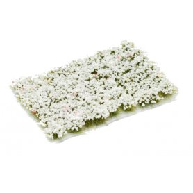 Kwiatki Pale White Flowers 6mm