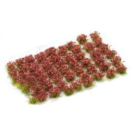 Kwiatki Crimson Red Flowers 6mm