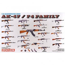 Dragon 3802 Weapon Set Ak      1/35