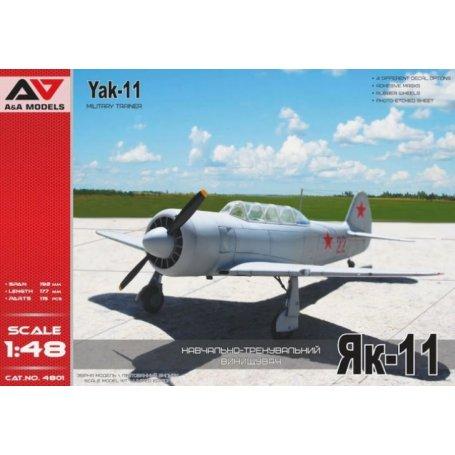 A&A Models 4801 Yak-11