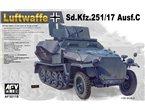 AFV Club 35118 Sd.Kfz 251/17 Ausf. C