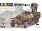 Afv Club 35116 Sdkfz 251/20 D  1/35