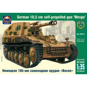 "Ark Models 35013 1/35 ""Wespe"" German 10.5 cm Gun"