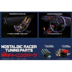 Fujimi 111148 1:24 Nostalgic Racer Tuning Parts