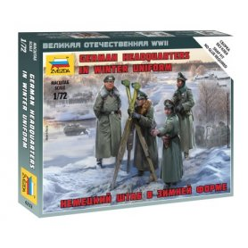 Zvezda 6232 1:72 German HQ Winter