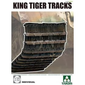 Takom 2048 1:35 WWII King Tiger Tracks