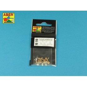 Aber 16110 Toczone mosiężne imitacje śrub 1,6x4mm