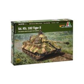 Italeri 15765 1/56 Sd.Kfz 182 Tiger II