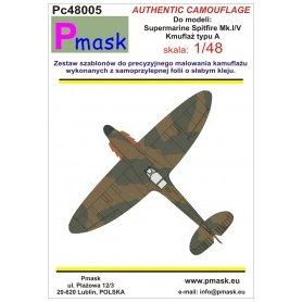Pmask Pc48005 Spitfire Mk.I/V typ A - kamuflaż
