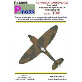 Pmask Pc48006 Spitfire Mk.I/V typ B - kamuflaż