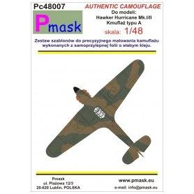 Pmask Pc48007 Hurricane typ A - kamuflaż