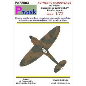 Pmask Pc72003 Spitfire Mk.I/V typ A - Kamuflaż
