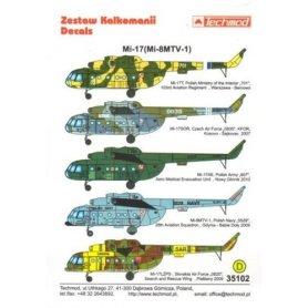 Techmod 35102 Mi-17 (Mi-8MTV-1)
