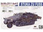 AFV Club 1:35 Sd.Kfz 251/1 Ausf.C Stuka zu Fuss