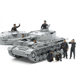 Tamiya 1:35 German tank crew | 8 figurines |