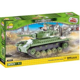 Cobi Small Army 2457 M 24 Chaffee 350 Kl.
