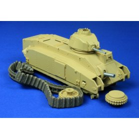 RB Model Lufa 75 mm 47 mm 7.5 mm MG Char B1 bis