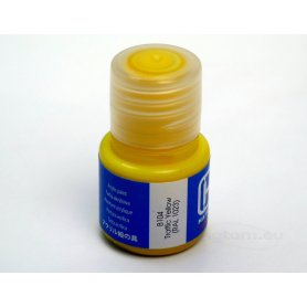 Farba akrylowa Hataka B104 Traffic Yellow ( RAL 1023 ) 10 ml