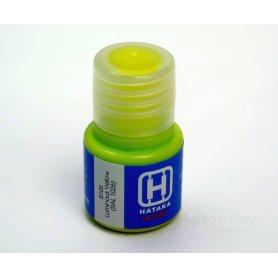 Farba akrylowa Hataka B105 Luminous Yellow ( RAL 1026 ) 10 ml
