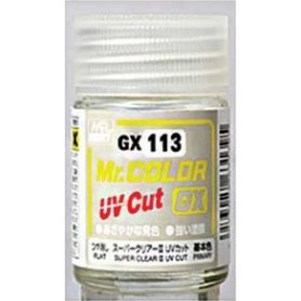MrColor GX-113 Super Clear III UV Cut Flat 18 ml