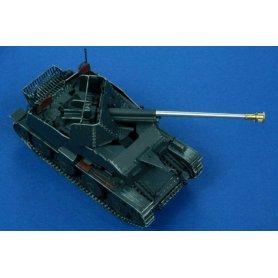RB Model Lufa 7.62 cm PaK36 (r) ᄊrodkowy model Sd.Kfz.139 Marder III