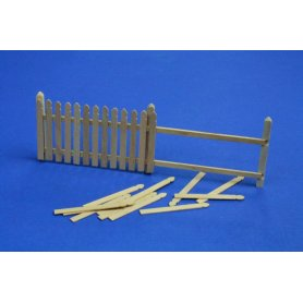 RB Model Płot drewniany