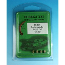 Eureka XXL 1:35 Towing cables w/resin endings for KV-1 / KV-2 late version