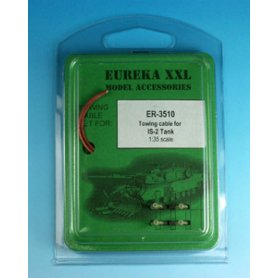 Eureka XXL 1:35 Towing cables w/resin endings for IS-2 / IS-3
