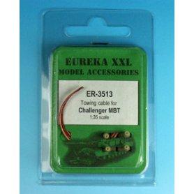 Eureka XXL Zestaw lin holowniczych z zako�czeniami �ywicznymi do czo�gu MBT Challenger.