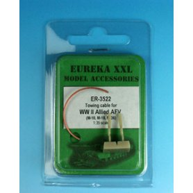 Eureka XXL Towing cable for M10, M18, M36 SPG's