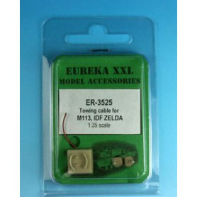 Eureka XXL 1:35 Towing cables w/resin endings for M113 / M163 / M981 / Zelda APV