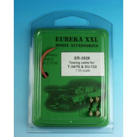 Eureka XXL 1:35 Towing cables w/resin endings for T-34-76 / SU-85 / SU-100 / SU-122