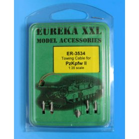 Eureka XXL 1:35 Towing cables w/resin endings for Pz.Kpfw.II