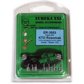 Eureka XXL 1:35 Towing cables w/resin endings for do KTO Rosomak