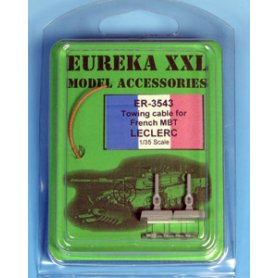 Eureka XXL 1:35 Towing cables w/resin endings for Leclerc