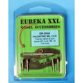 Eureka XXL Towing cable for Valentine I, II, IV, VI &amp VII Tanks