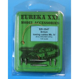 Eureka XXL British towing cable Mark IV for Archer SPG