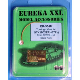 Eureka XXL 1:35 Towing cables w/resin endings for GTK Boxer
