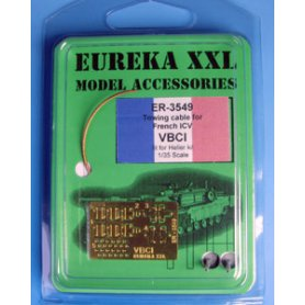 Eureka XXL 1:35 Towing cables w/resin endings for VBCI