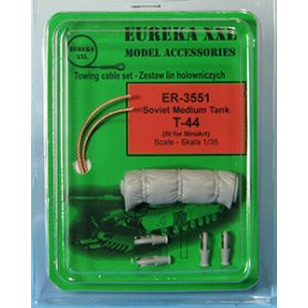 Eureka XXL 1:35 Towing cables w/resin endings for T-44