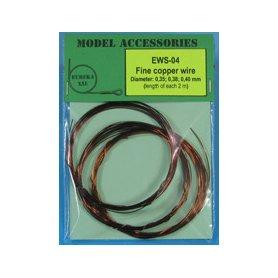 Eureka XXL Fine copper wire Diameter: 0.35, 0.38, 0.40