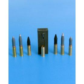 Eureka XXL 1:35 Ammunition 75mm Sprgr.Patr.34 Kw.K.37 / Stu.K.37 L/24