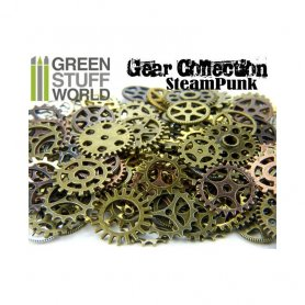SteamPunk GEARS and COGS Beads 85gr *** Variety