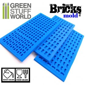 Silicone molds - BRICKs