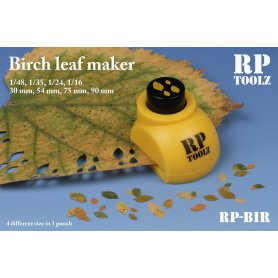 Birch leaf maker in 4 size