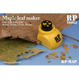 Maple leaf maker in 4 size