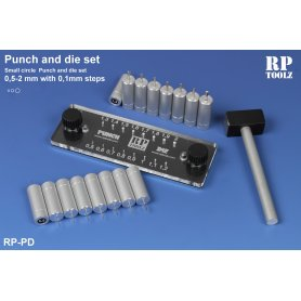 Punch and die set