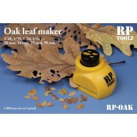 Oak leaf maker in 4 size