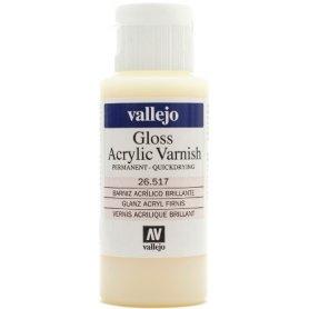 Vallejo Permanent Gloss Varnish 60 ml