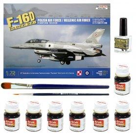 Tamiya 1:48 Sea Harrier | Model do sklejania + farby + klej + pędzelki